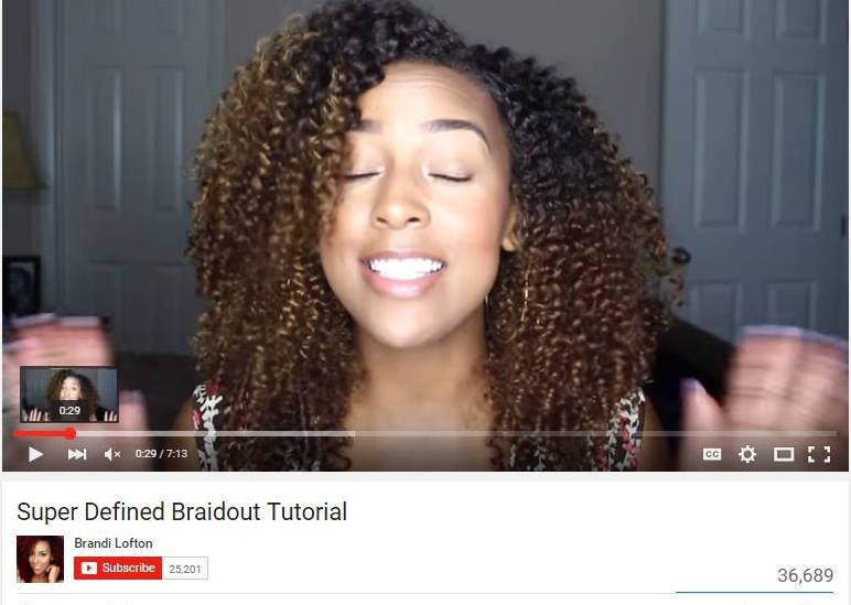 What are Braid Outs?