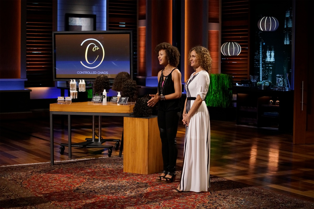 Shark Tank – Controlled Chaos Creme on Natural Hair