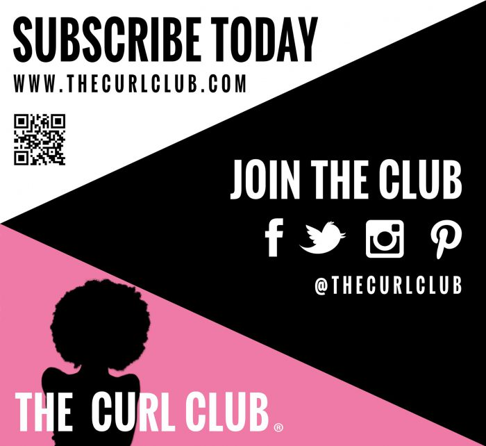 Join The Curl Club natural hair sign up