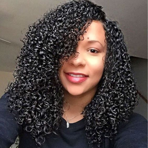 long natural curly hair review