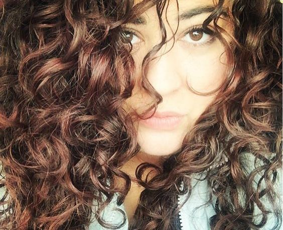 naturally curly hair loose curl hair type 2