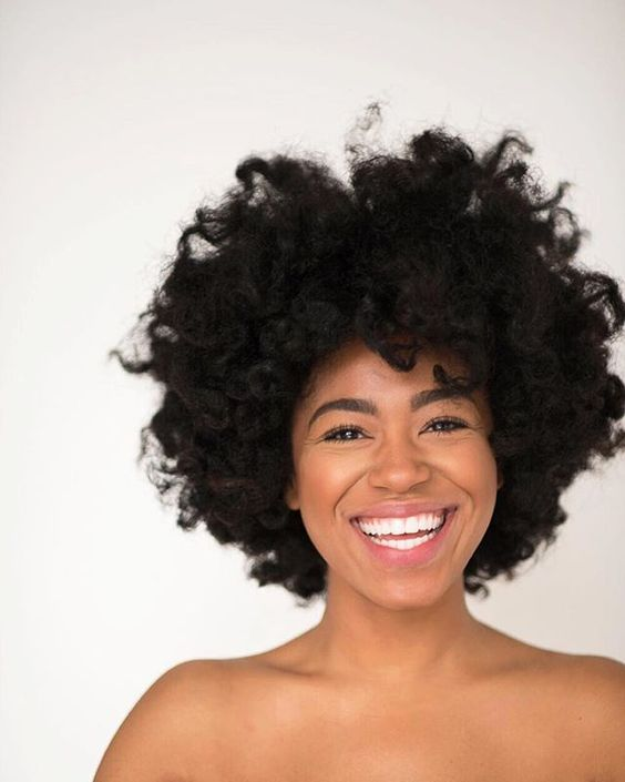 Hair Type 4 Afro Beauty