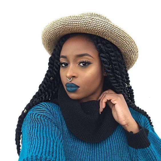 Crochet Braids on natural hair