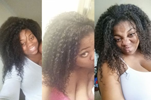 Maelan curly hydration method for natural hair