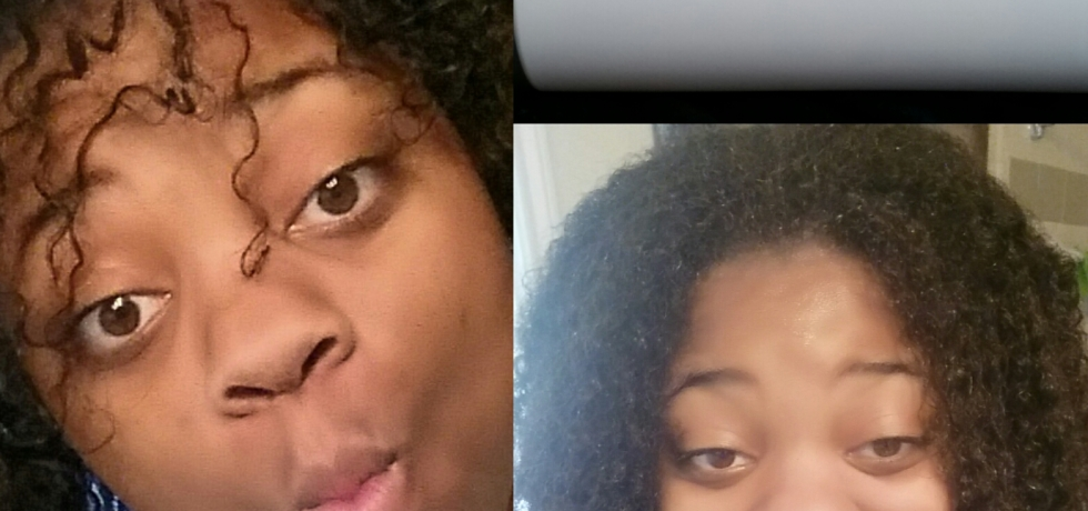 Egg and Conditioner Mask on naturally curly hair