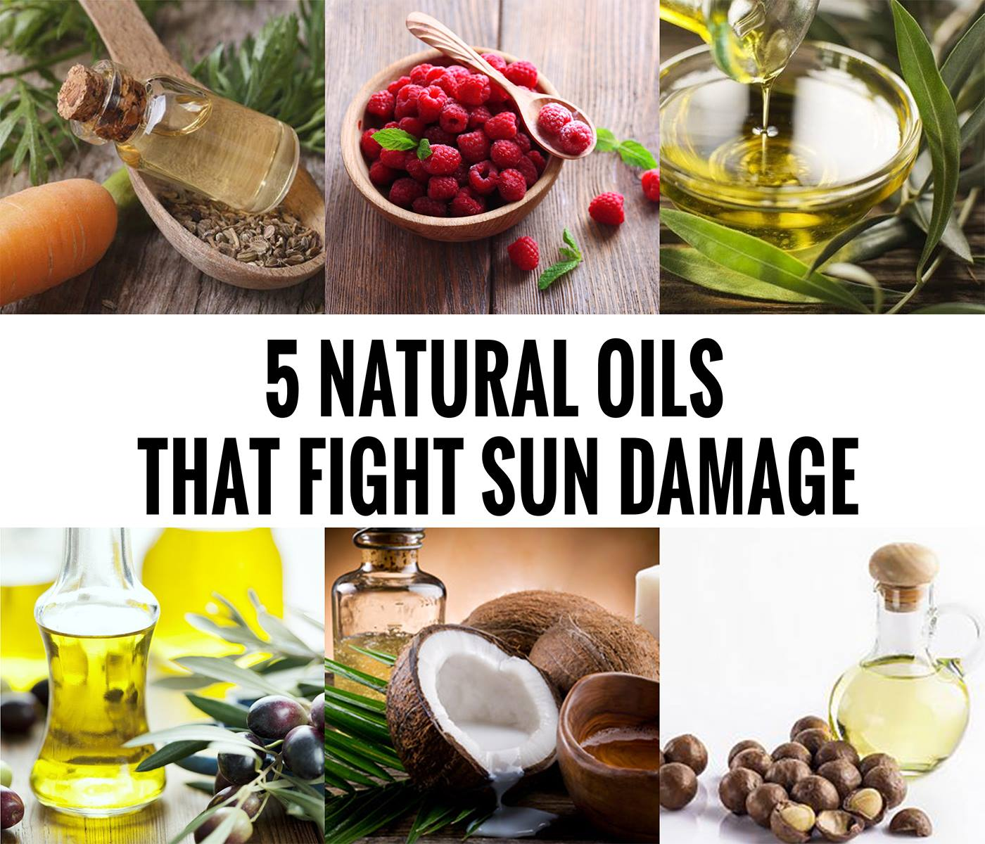 5 Natural Hair Oils that fight sun damage
