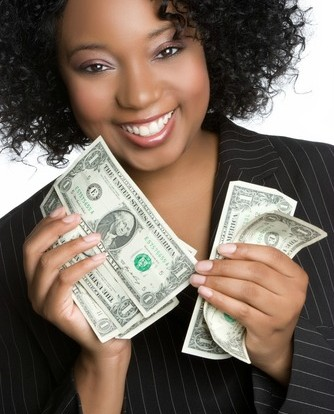 curly natural hair money image for budget